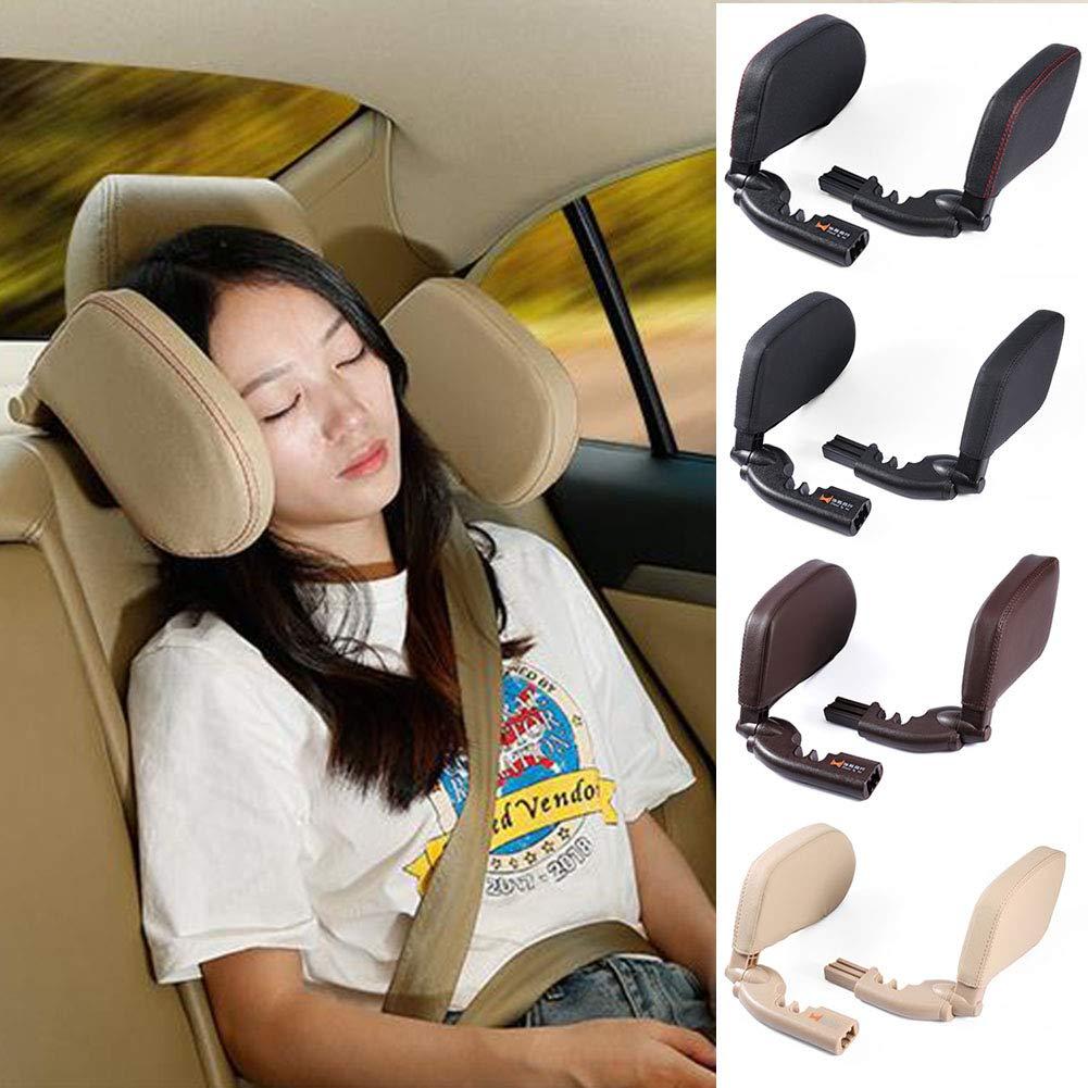 Reposacabezas de seguridad de asiento de coche para niños y adultos.